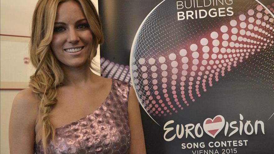 Edurne cantará en el puesto 21 de la final de Eurovisión