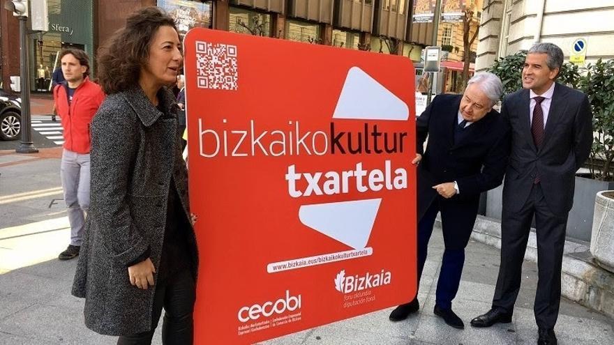 Bizkaia saca a la venta el lunes 12.750 'Bonos Cultura'