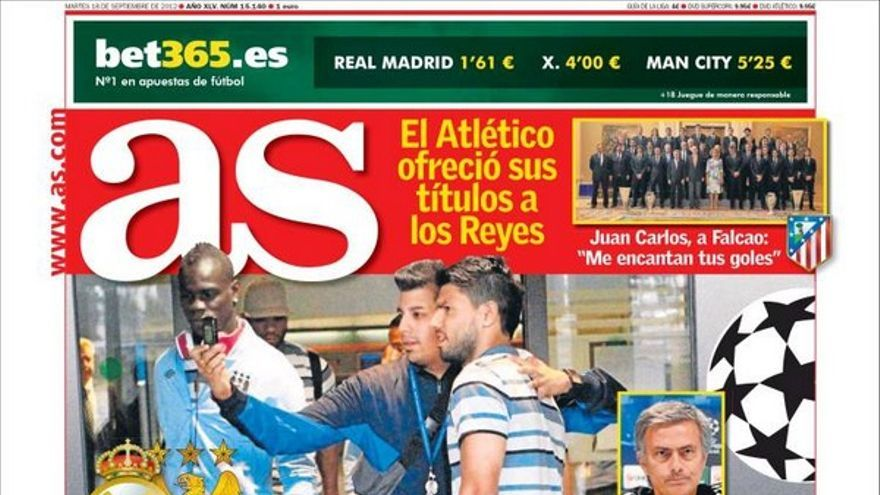 De las portadas del día (18/09/2012) #13