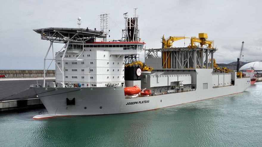 Uno de los buques botados en La Naval, de Sestao.