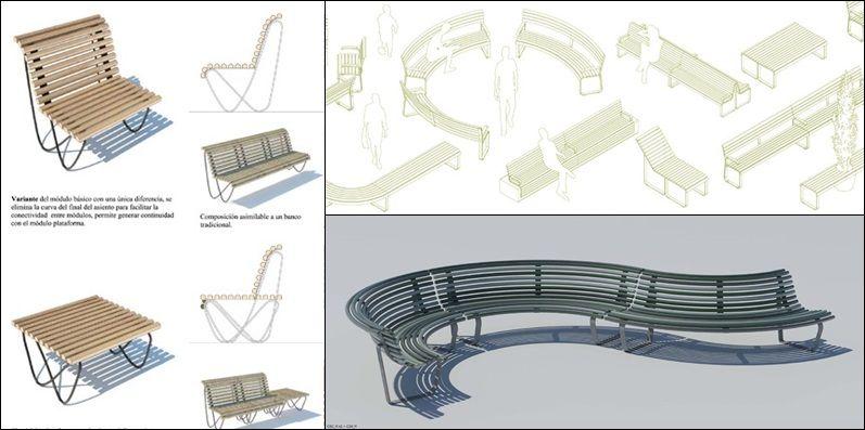 Los tres diseños ganadores del concurso del Ayuntamiento de Madrid