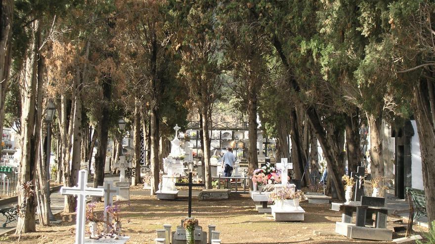 Cementerio municipal de Santa Cruz de La Palma.
