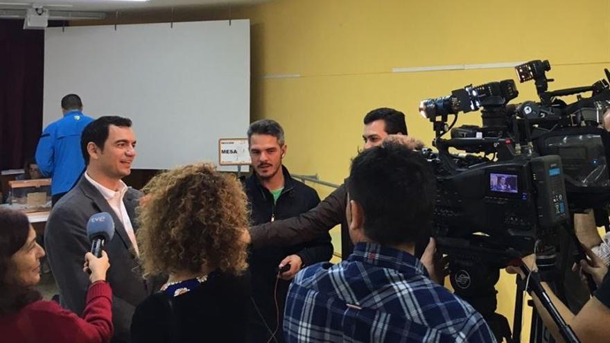 """Saúl Ramírez espera un """"cambio total"""" y da por sentenciado al """"bipartidismo instalado"""""""