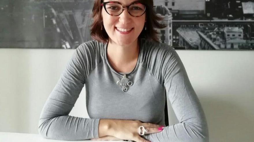 Ithaisa Pérez, profesora nominada en la categoría universitaria a mejor docente de España.