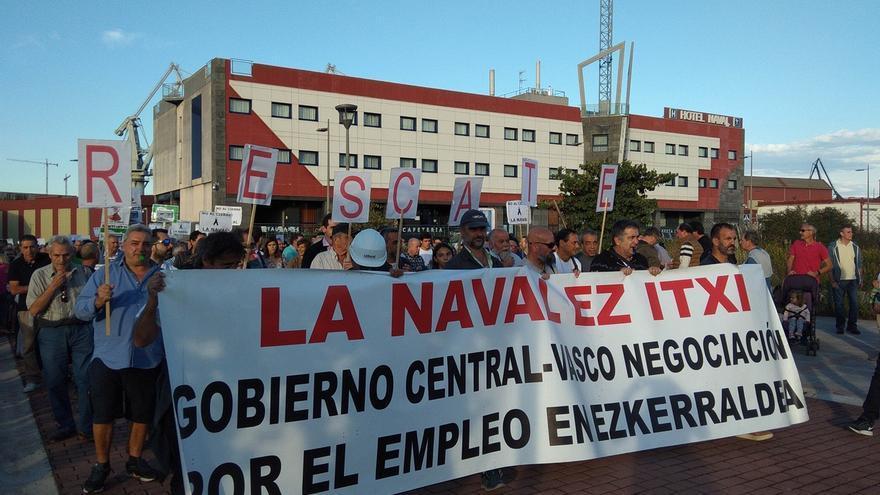 """CAT pide a Sánchez y Urkullu que no les vuelvan a decir que """"no se puede rescatar"""" La Naval y """"hagan"""""""