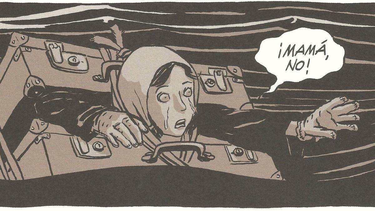 Viñeta de 'Dolores', el cómic de Bruno Loth