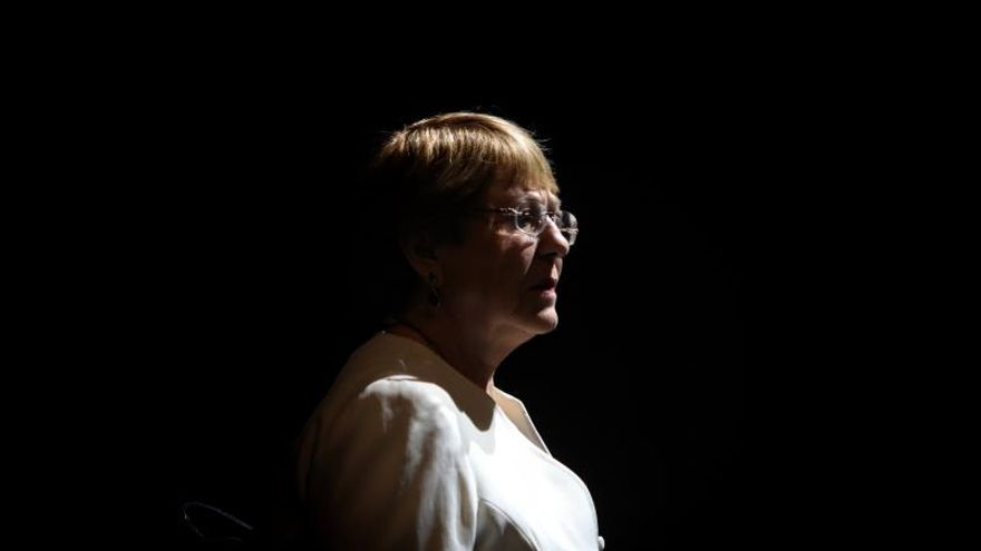 En la imagen la alta comisionada de las Naciones Unidas para los Derechos Humanos, Michelle Bachelet.