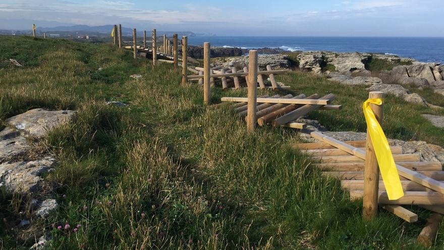 El fallido proyecto de la senda costera han costado 635.000 euros, el 65% del presupuesto inicial