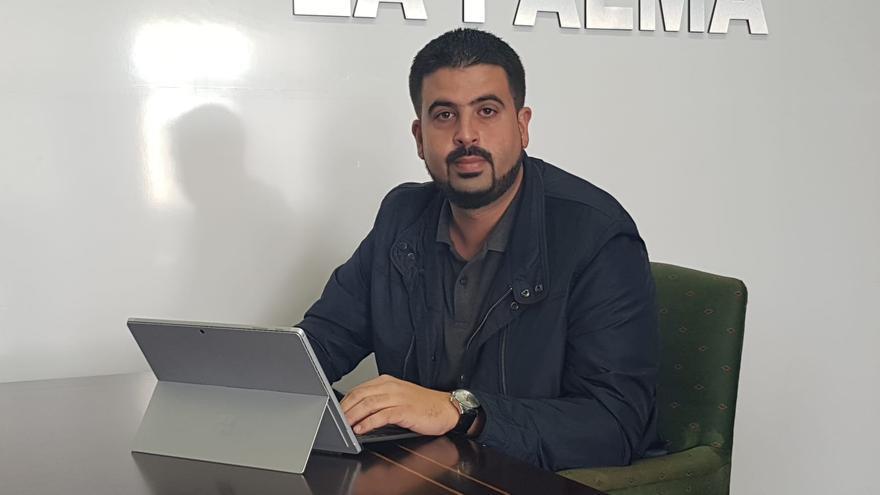 Borja Perdomo, consejero de Medio Ambiente del Cabildo de La Palma.