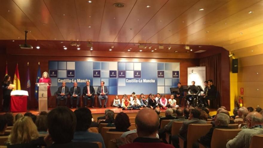 Un momento del acto en honor a la Constitución en Guadalajara