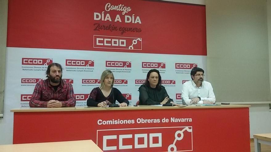 """CCOO critica la """"falta de concreción"""" en los despidos anunciados de Siemens Gamesa y pide al Gobierno foral que presione"""
