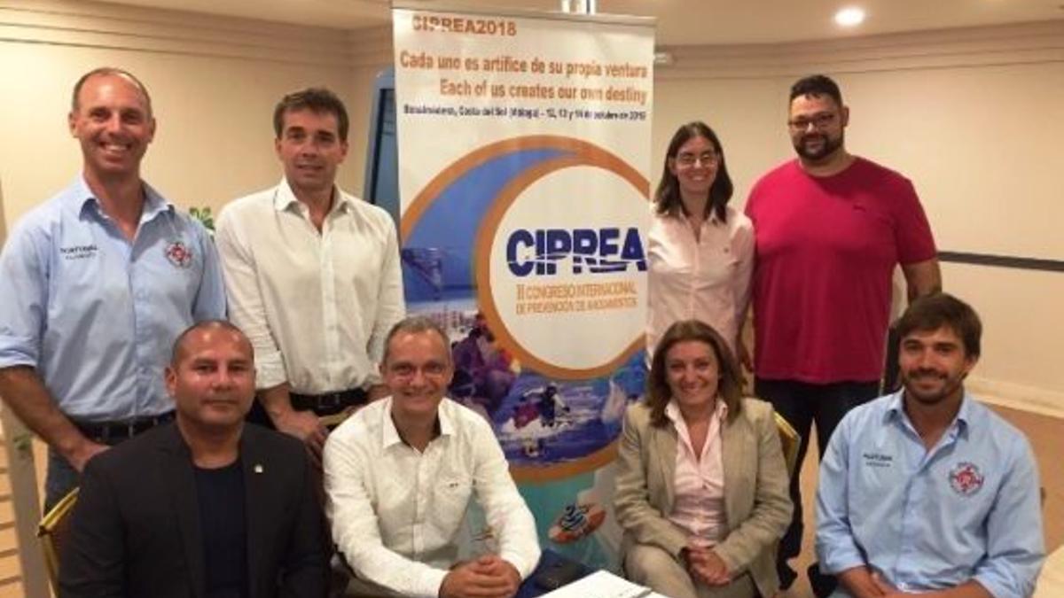 Una de las últimas reuniones de la Federación Latinoamericana de Salvamento y Socorrismo.