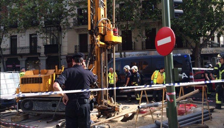 Lugar del siniestro, acordonado por la policía | EMERGENCIAS MADRID