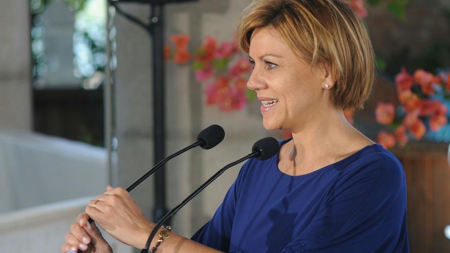 Cospedal anuncia su candidatura para revalidar la Presidencia del PP C-LM
