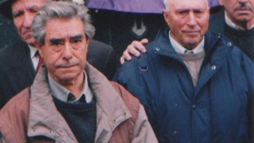 Francisco 'Quico' Martínez-López (izquierda) en un acto en 1997
