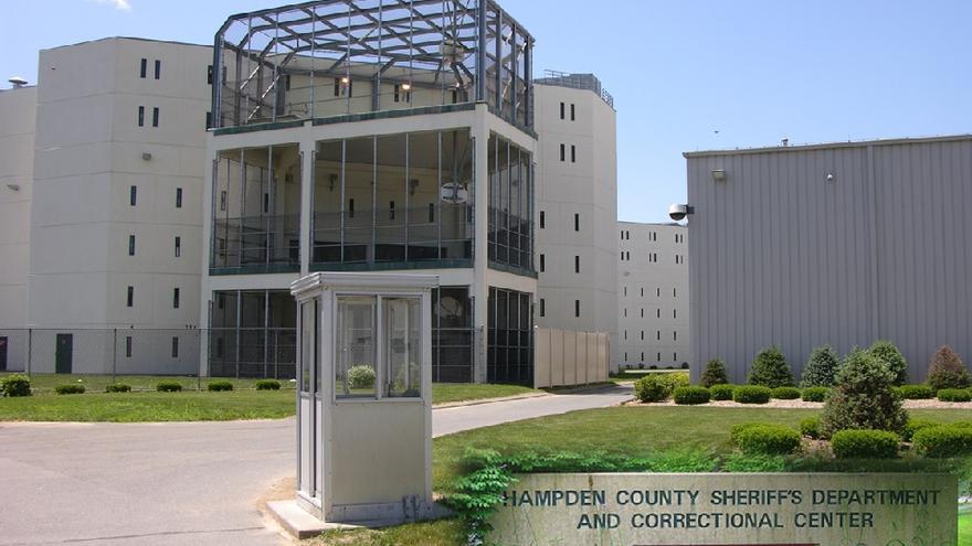Imagen de la prisión de Hampden, Massachusetts.