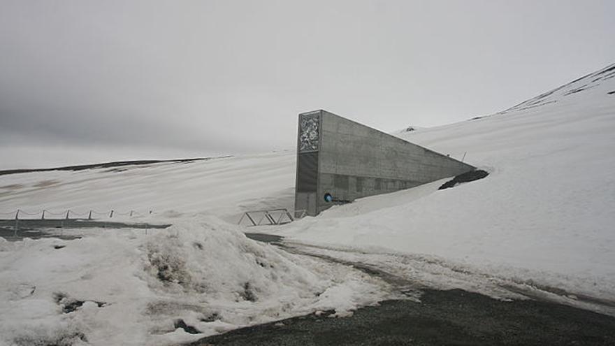 """Banco Mundial de Semillas de Svalbard, """"Bóveda del fin del mundo"""""""