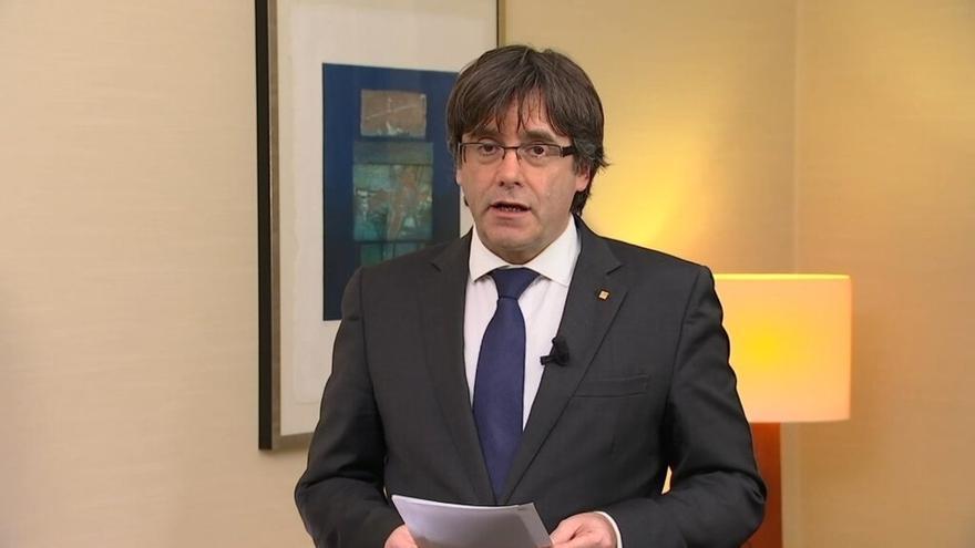 """Puigdemont se ofrece a debatir con Rajoy en Bélgica: """"Tiene que haber esta conversación"""""""
