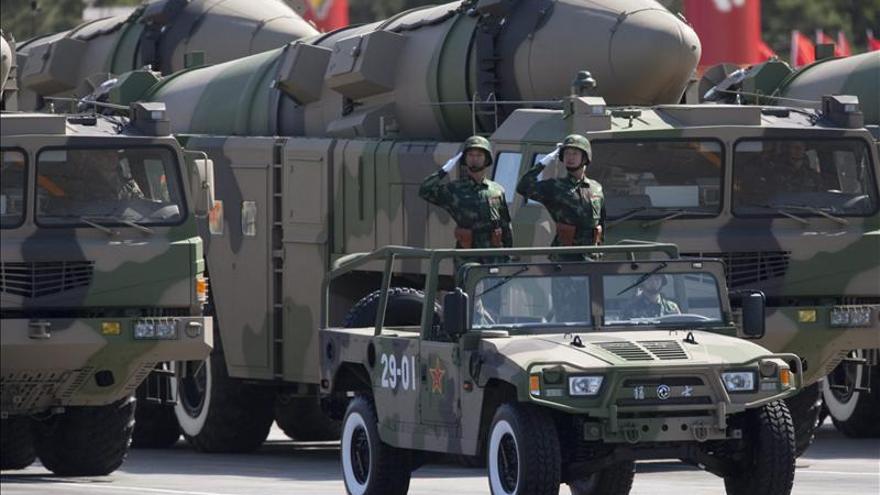 China efectúa una prueba de interceptación de misiles de medio alcance