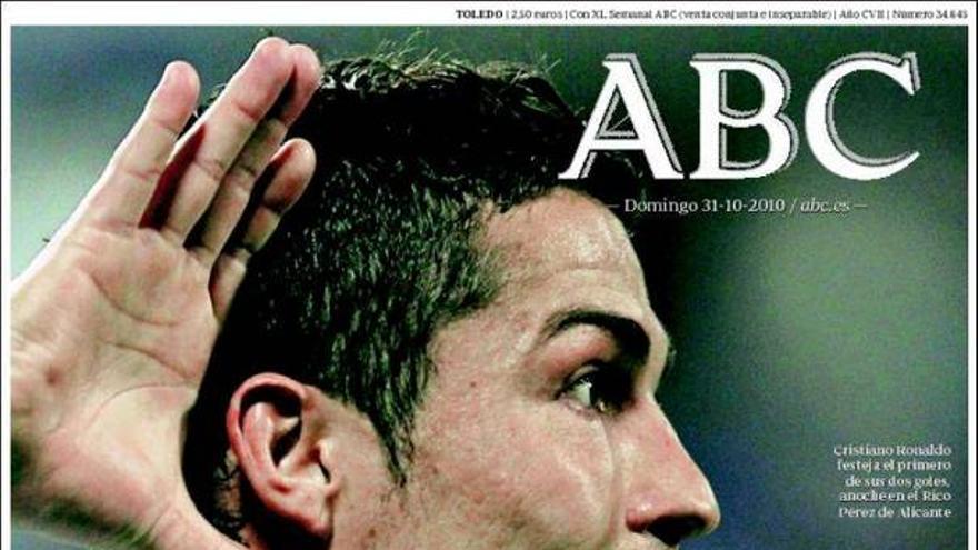De las portadas del día (31/10/2010) #6