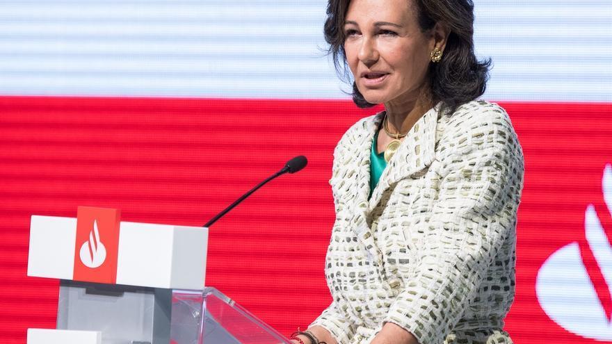 """Botín pide en Davos la Unión Bancaria Europea """"desesperadamente"""" para que Europa crezca y sea competitiva"""