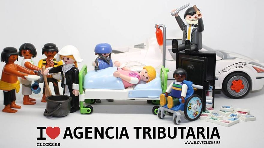 I love Agencia Tributaria