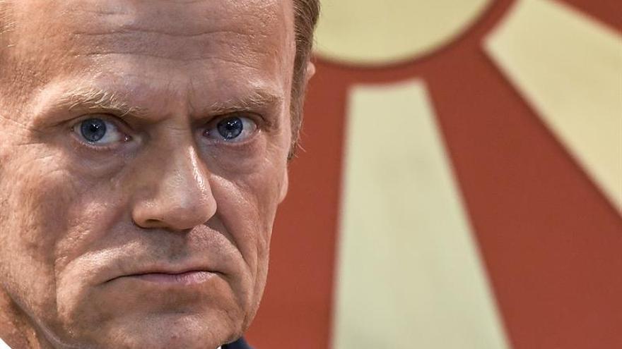 """Tusk insiste en la unidad de la UE en las negociaciones sobre el """"brexit"""""""