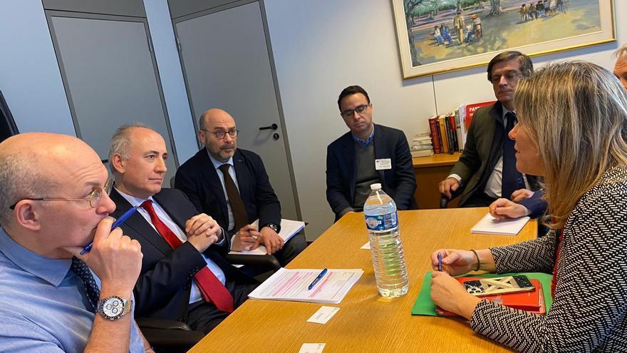 Reunión Bruselas en la Dirección General de Agricultura de la Unión Europea (UE).