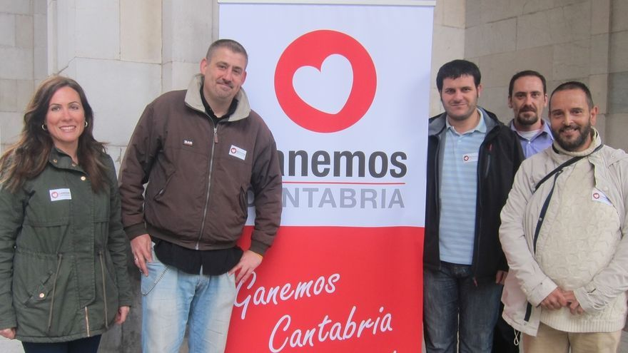 """Ganemos Cantabria recoge el """"simbolismo"""" del 15M para reivindicar políticas para """"la gente de a pie"""""""