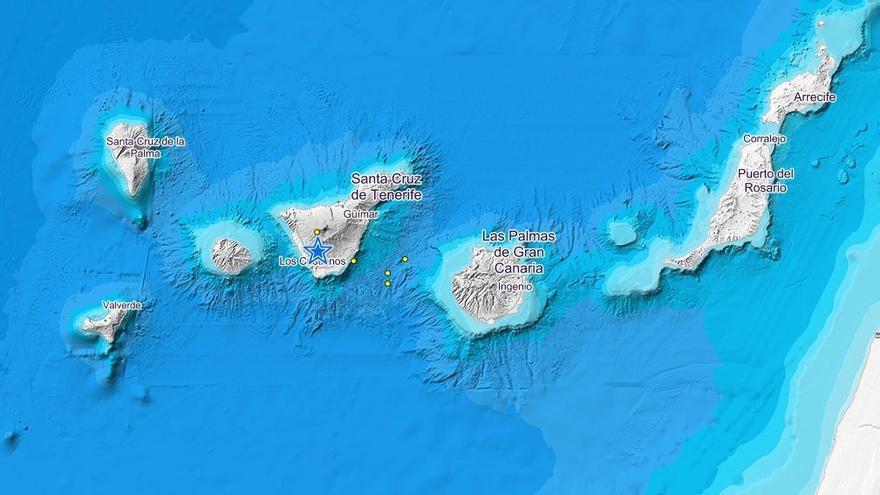 Enero deja 210 terremotos registrados en Canarias