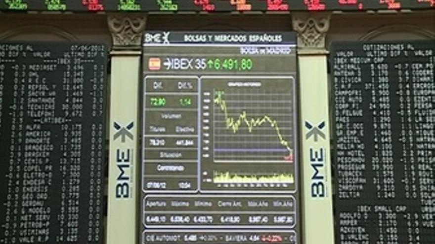 El Ibex abre la sesión con una subida