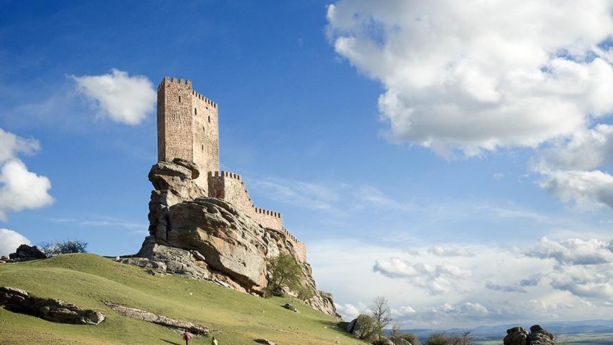 Castillo de Zafra (Guadalajara) donde se rodó parte de la serie 'Juego de Tronos'