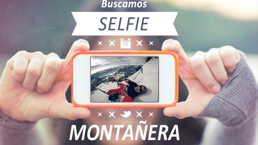 Concurso 'Selfie' montañera. Vèrtic Outdoor