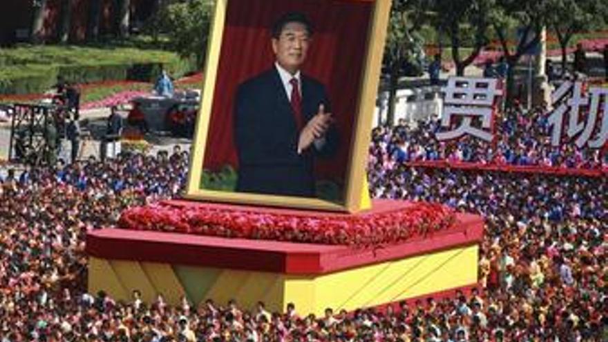 Conmemoración de la revolución comunista en China