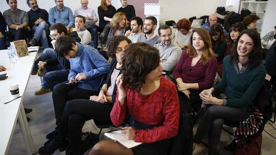 Iglesias dice que Podemos ha dado un ejemplo de unidad defendiendo a Maestre