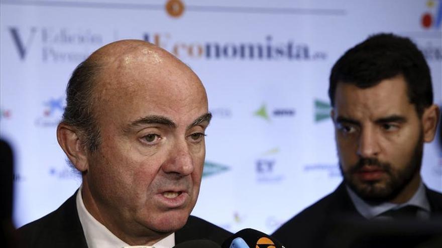 De Guindos destaca que la vulnerabilidad de la economía española es hoy menor