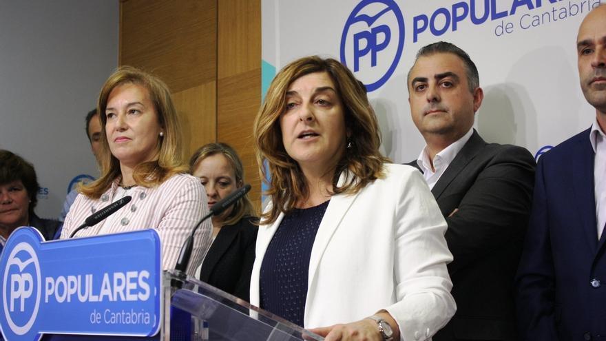 """Buruaga cree que la sentencia sobre Congreso marca un """"punto y final"""" y la legitima para liderar una """"nueva etapa"""" en PP"""
