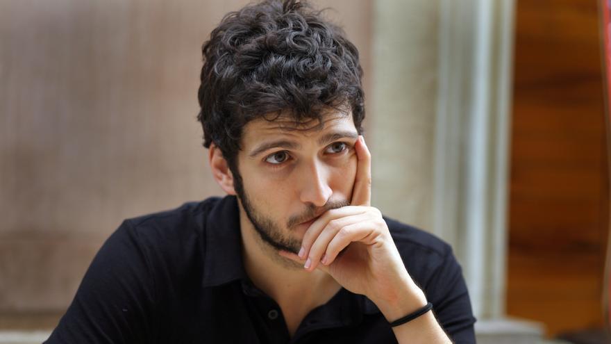 Antonio Estañ, portavoz de Podemos en las Corts valencianes