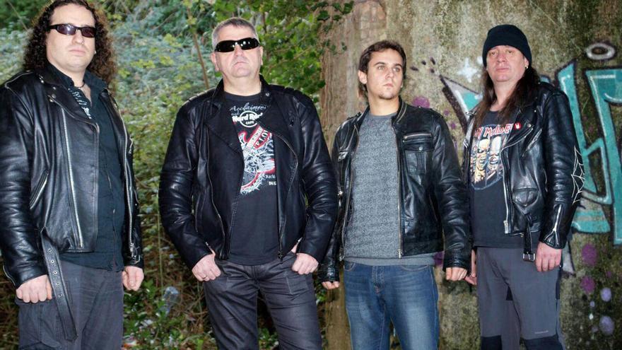 El grupo Aranea Adventus.