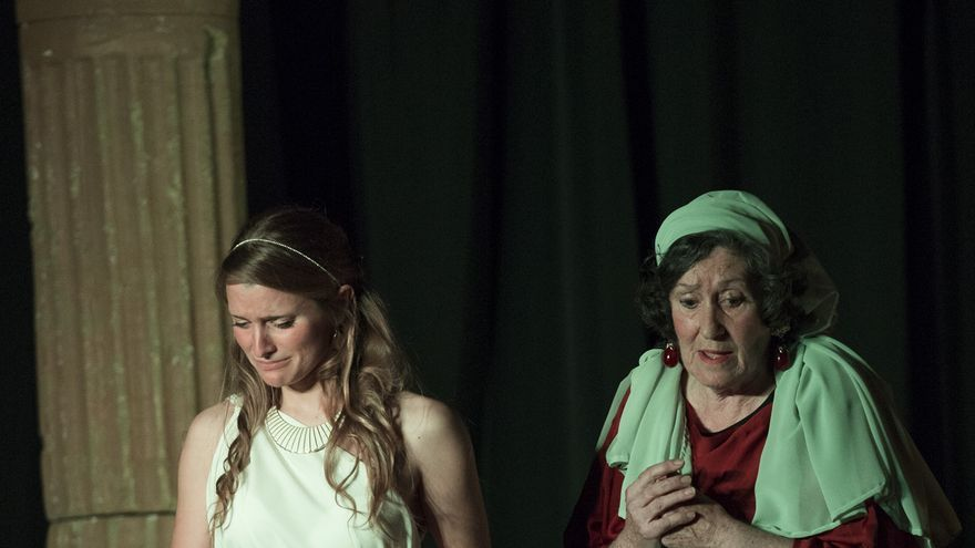 Escena de la obra 'Odisea en Escena'.