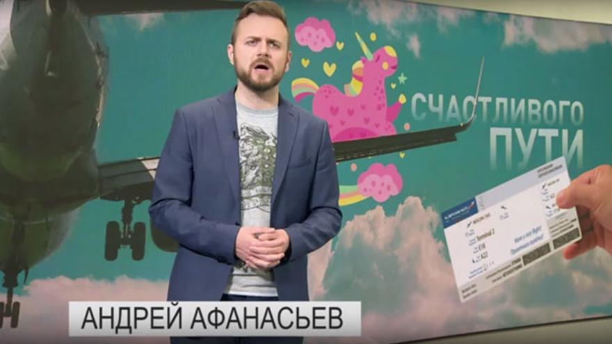 Andrei Afanasyev, presentador Tsargrad TV