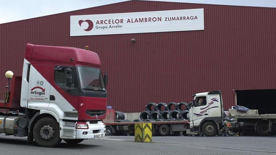 ArcelorMittal anuncia el cese parcial de actividad de su planta de Zumarraga