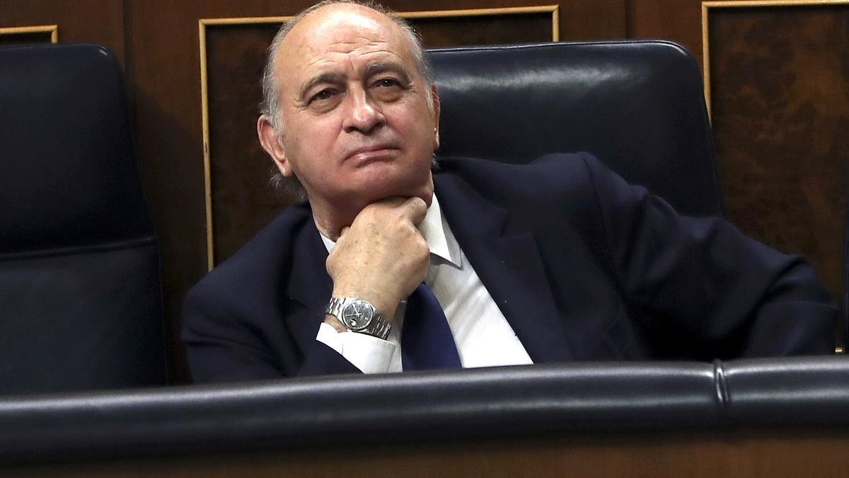 El exministro del Interior Jorge Fernández Díaz. EFE/J. J. Guillén/Archivo