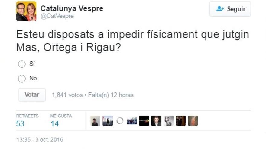 Tuit de Catalunya Vespre