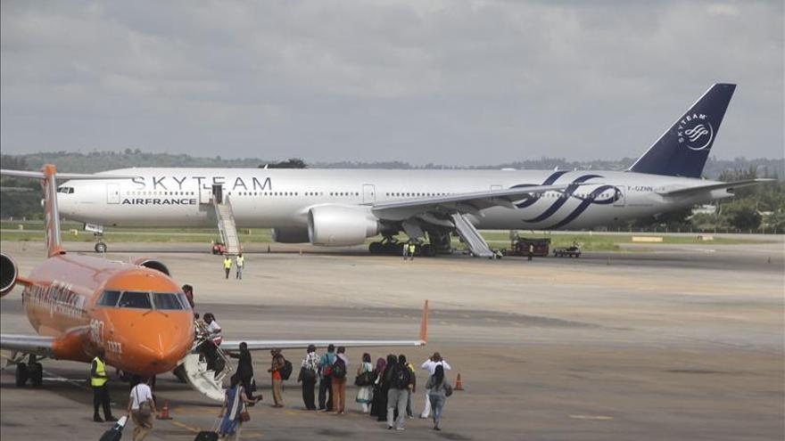 Un avión de Air France aterriza de emergencia en Kenia por una alerta de bomba