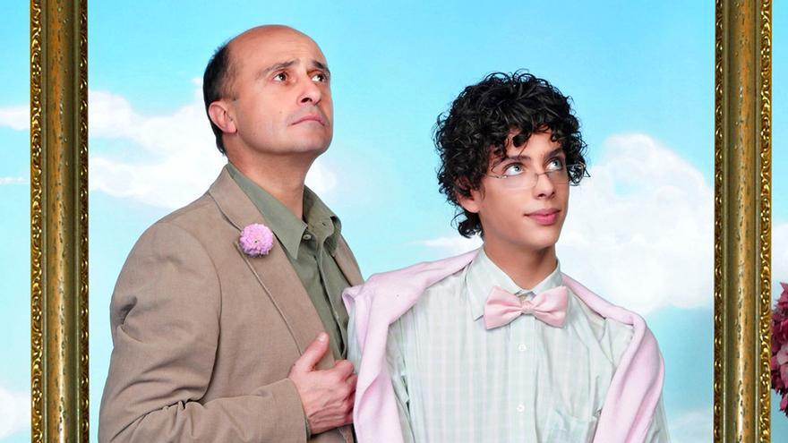 Pepe Viyuela y Eduardo Casanova en Aída