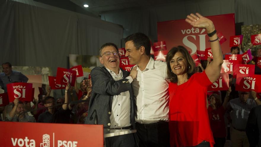 """Sánchez reivindica el poder del voto y avisa: Sólo """"un PSOE fuerte"""" hará que le apoyen quienes dijeron """"no"""""""