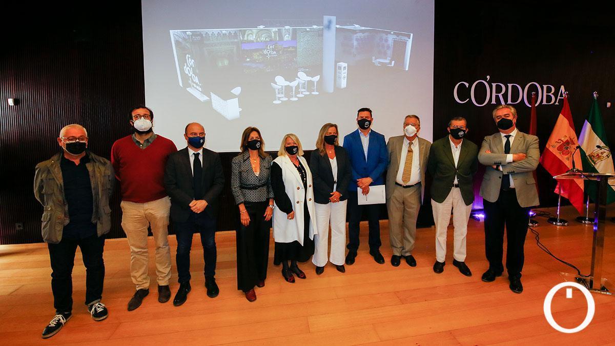 Presentación del stand propio que llevará Córdoba a Fitur 2021