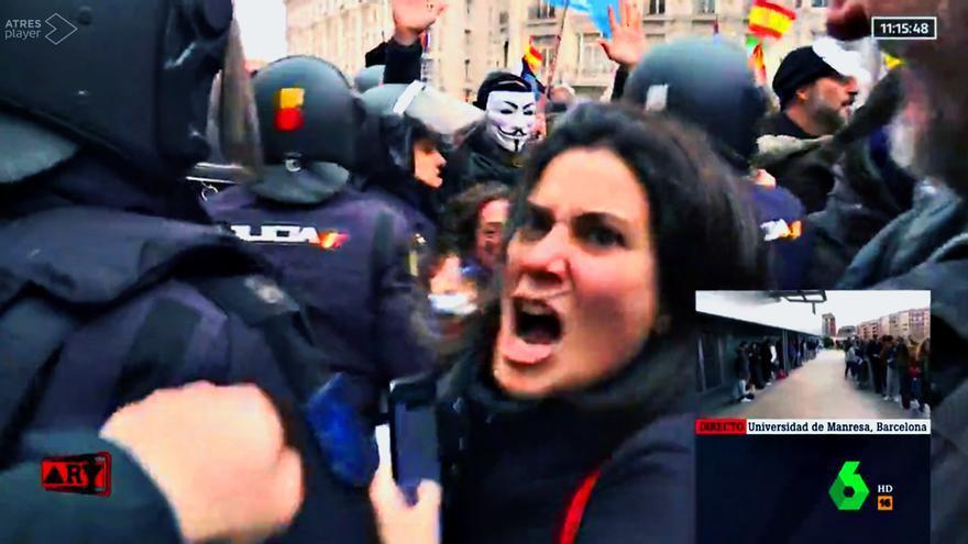 María Llapart en 'Al rojo vivo'