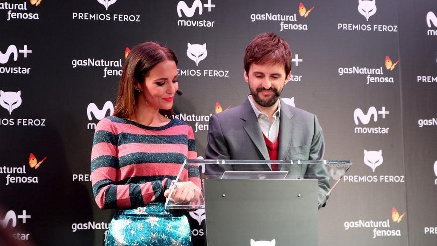 Paula Echevarría y Julián López leen los nominados de los Premios Feroz 2018